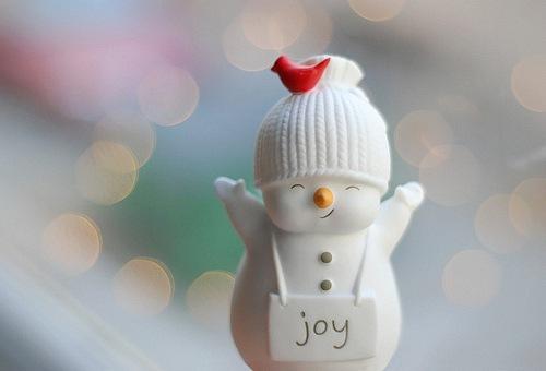 новый год снеговичок